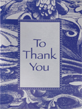 To Thank You Gift Packet